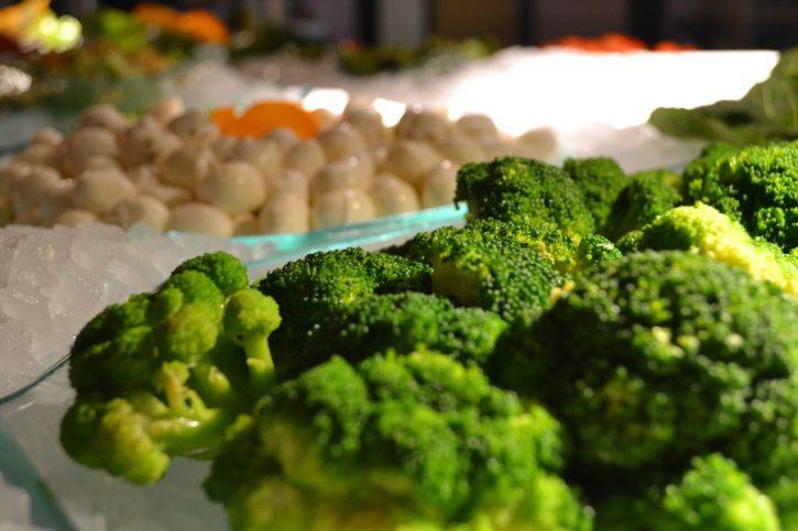Broccoli and Fresh Mozzarella