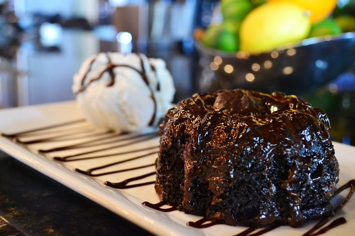 Molten Chocolate Cake - For the chocolate lovers.