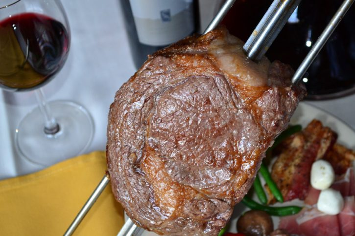 Rib Eye - Slowly cooked to perfection.